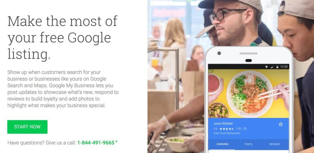 Get Started with Google My Business