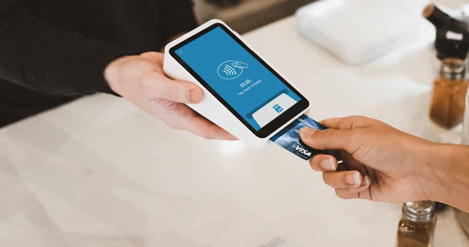 Credit Card Purchase at Restaurant
